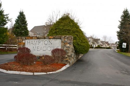 Hampton Meadows Entrance