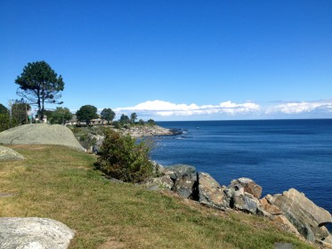 Along route 1A in North Hampton, NH