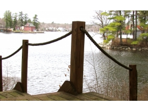 Big Island Pond Home For Sale Waterfront