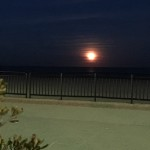 Full Moon Hampton Beach NH