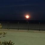 Full Moon Hampton Beach NH