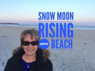 Snow Moon Rising